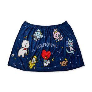 BTS BT21 Constellations Stars Skirt Blanket